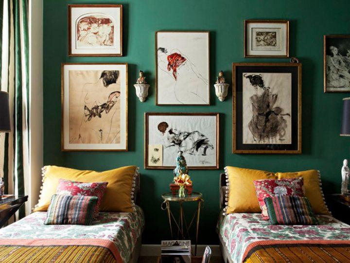 Inspiraciones y algo más… cuadros en el dormitorio