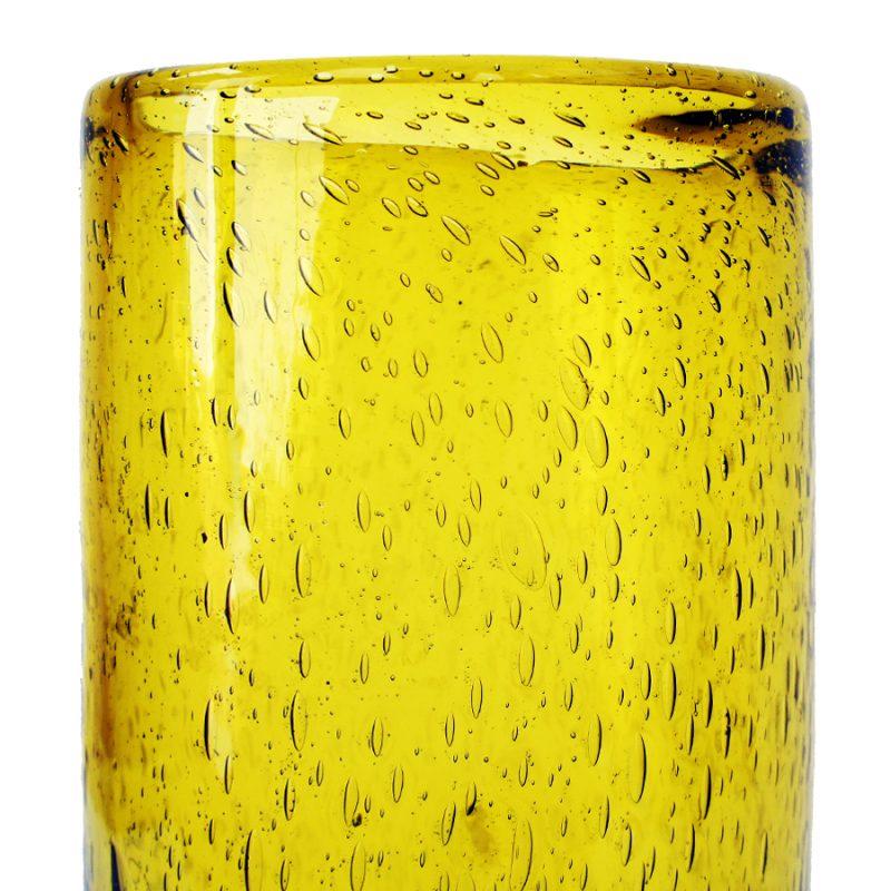 Jarrón cristal soplado italiano XXL