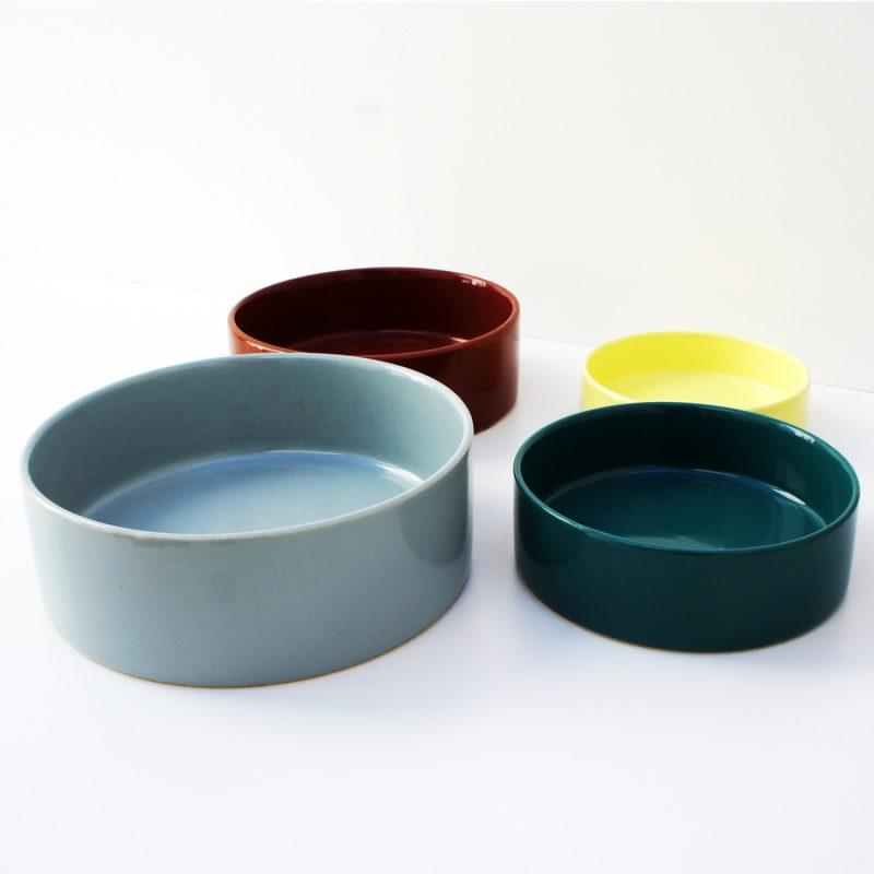 Juego de 4 platos vintage cerámica Melitta