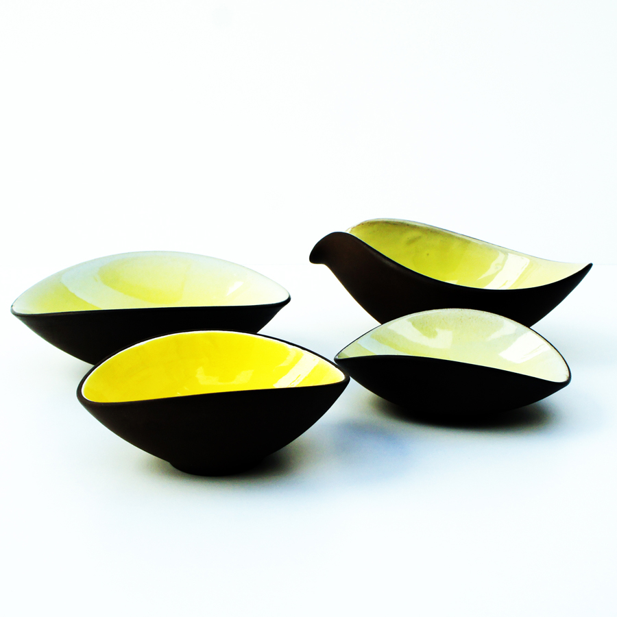 Vintage Bowls by Andreas Kastl, Set of 4