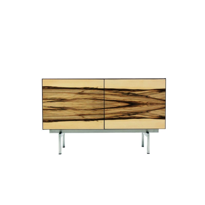 Vintage Palisander and Tropical Wood Veneer Sideboard