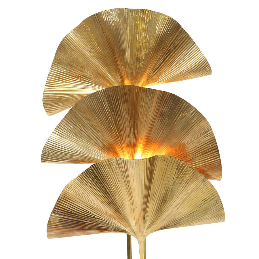 Vintage Ginkgo Floor Lamp by Carlo Giorgi