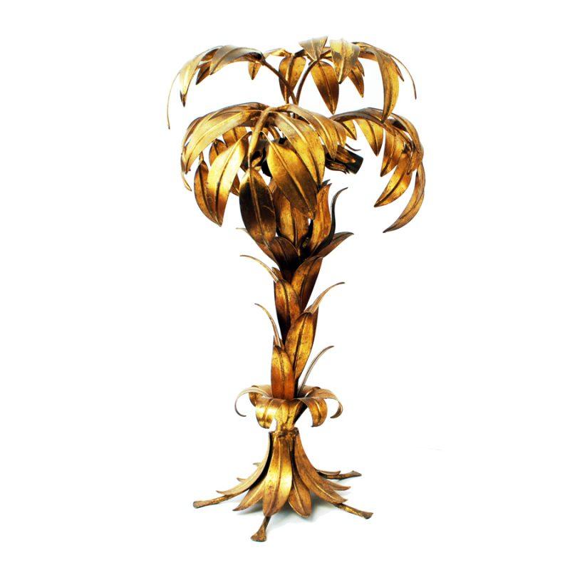Lámpara palmera de mesa diseño de Hans Kögl