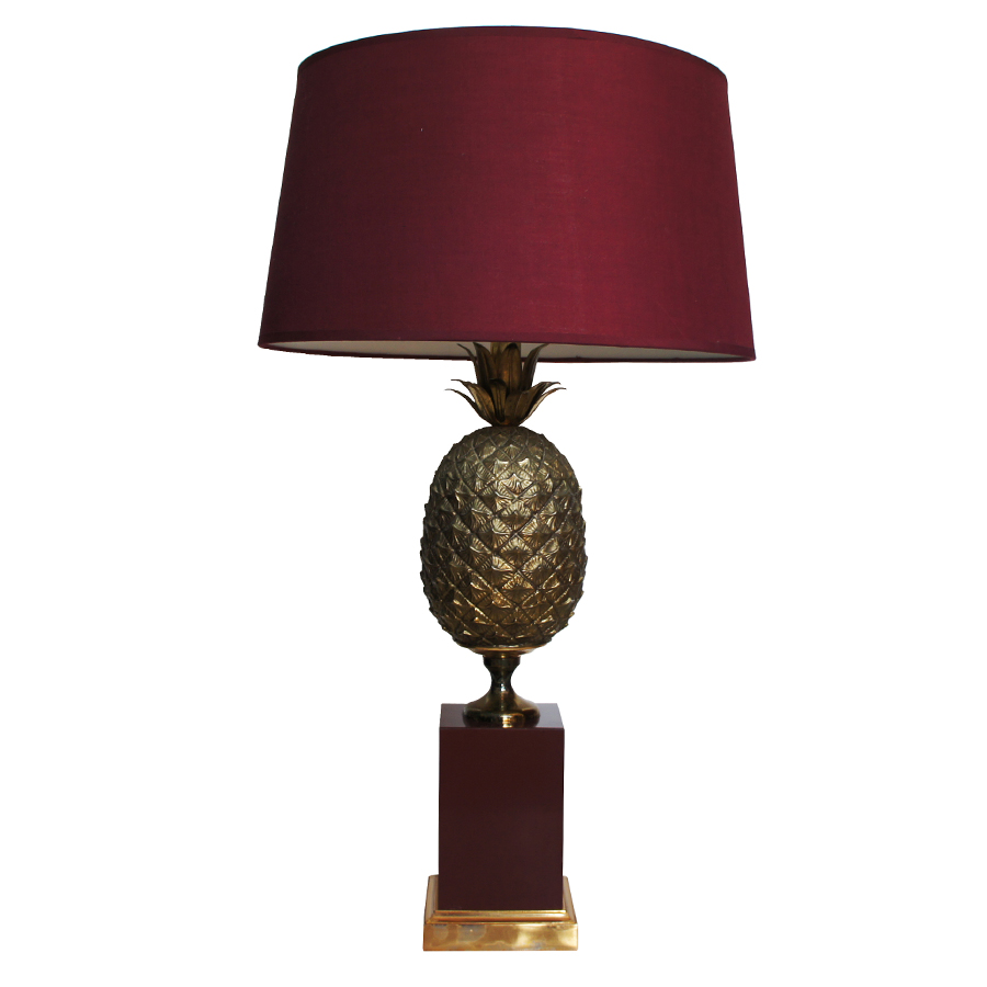 Mid-Century Pineapple Table Lamp by Mauro Manetti