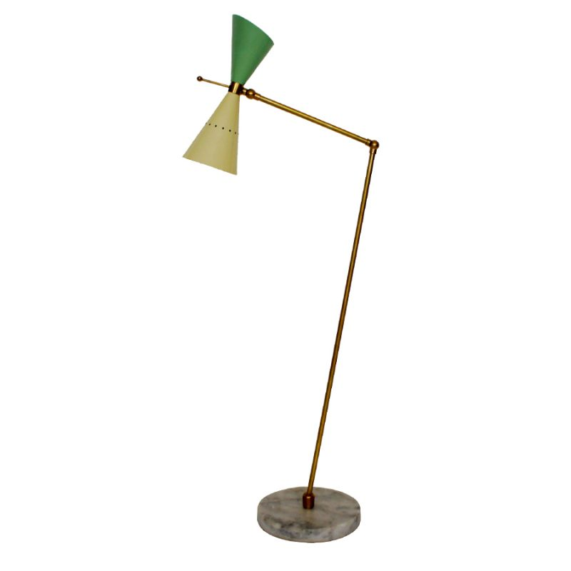 Large Table Lamp by Angelo Lelli for Arredoluce