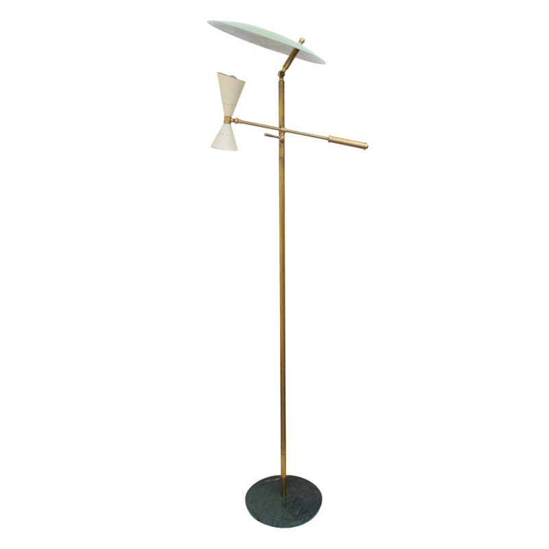 Italian Floor Lamp from Stilnovo, 1950s