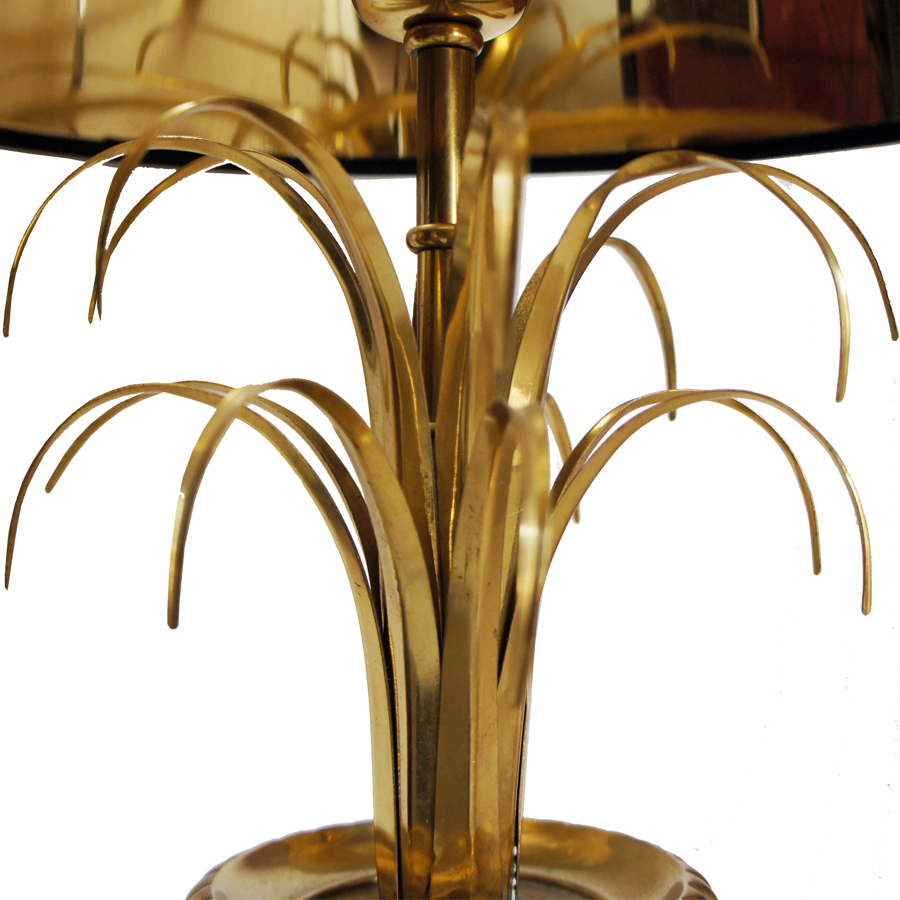 Black & Gold Table Lamps from Maison Charles, Set of 2