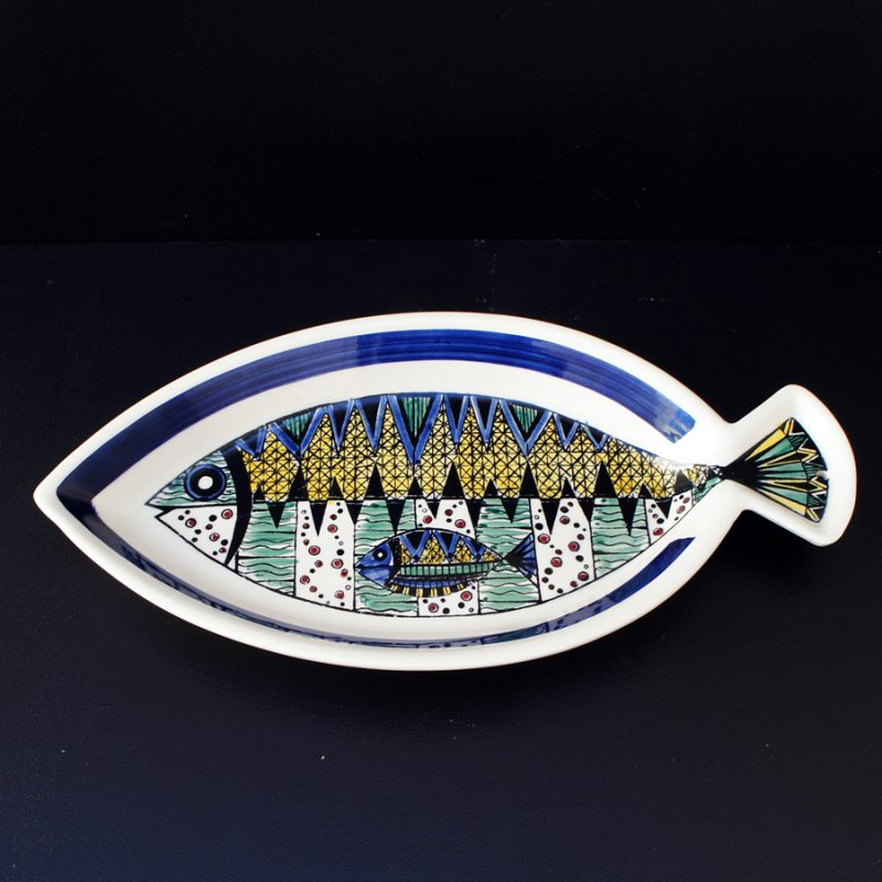 Pez cerámica sueca diseño Anita Nylund