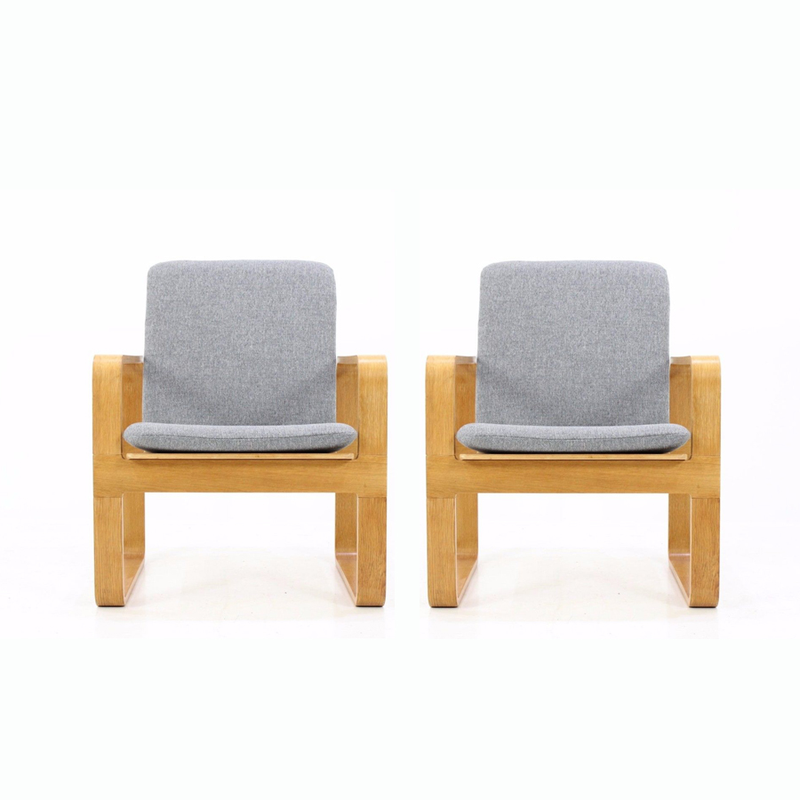 Vintage Armchairs from Magnus Olesen, Set of 2