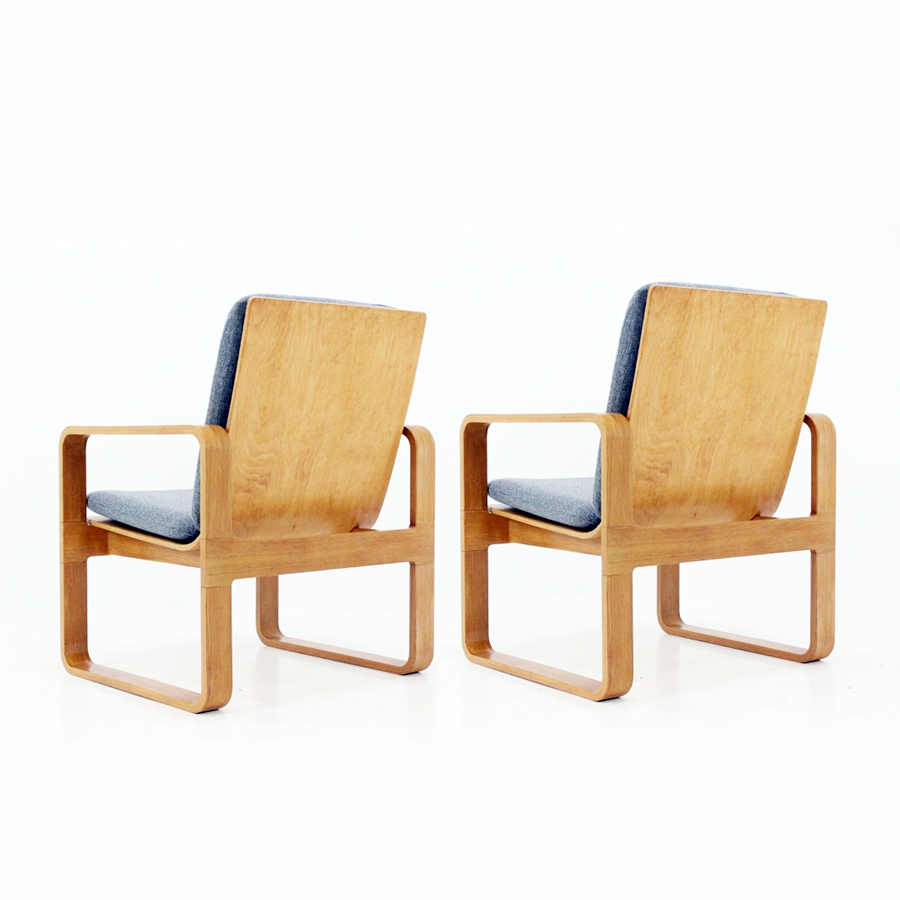 Vintage Armchairs from Magnus Olesen, Set of 2