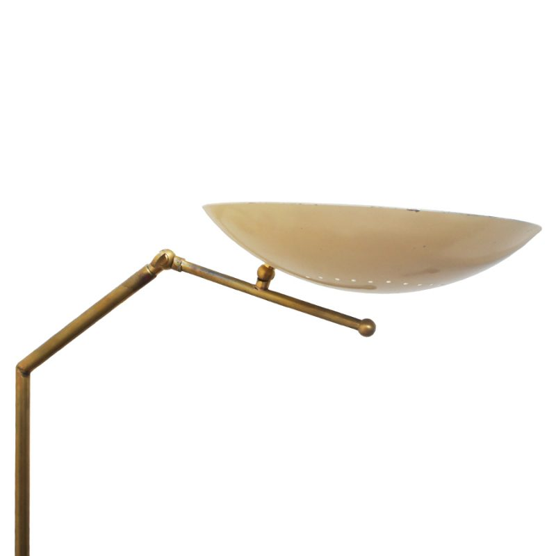 Lámpara Arteluce de suelo diseño vintage italiano