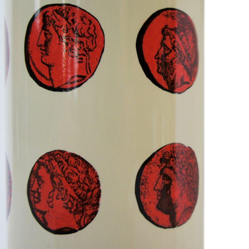 Lámpara Piero Fornasetti de mesa diseño cameos