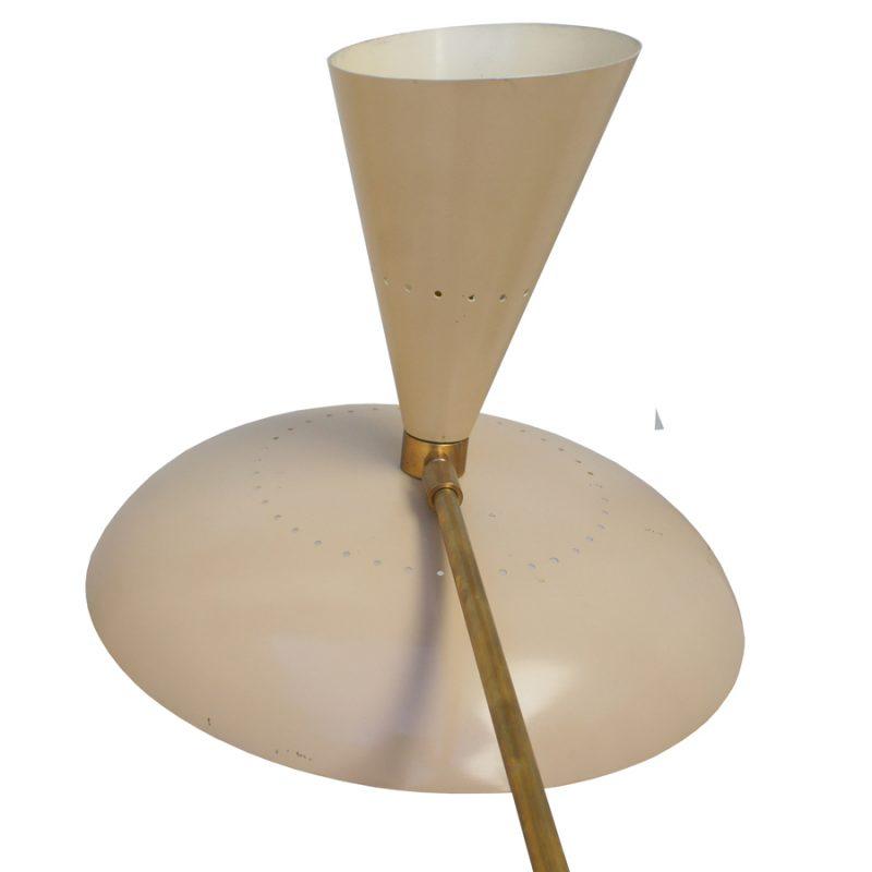 Lámpara italiana años 50s diseño Giuseppe Ostuni