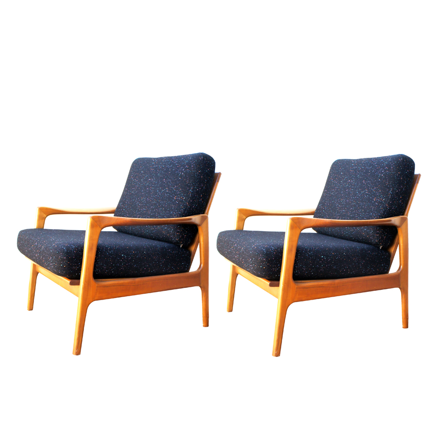 Vintage Armchairs from Wilhelm Knoll, Set of 2
