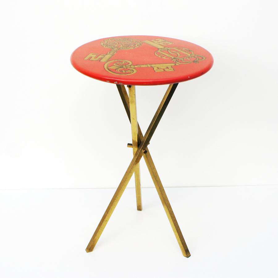 Keys Side Table by Piero Fornasetti