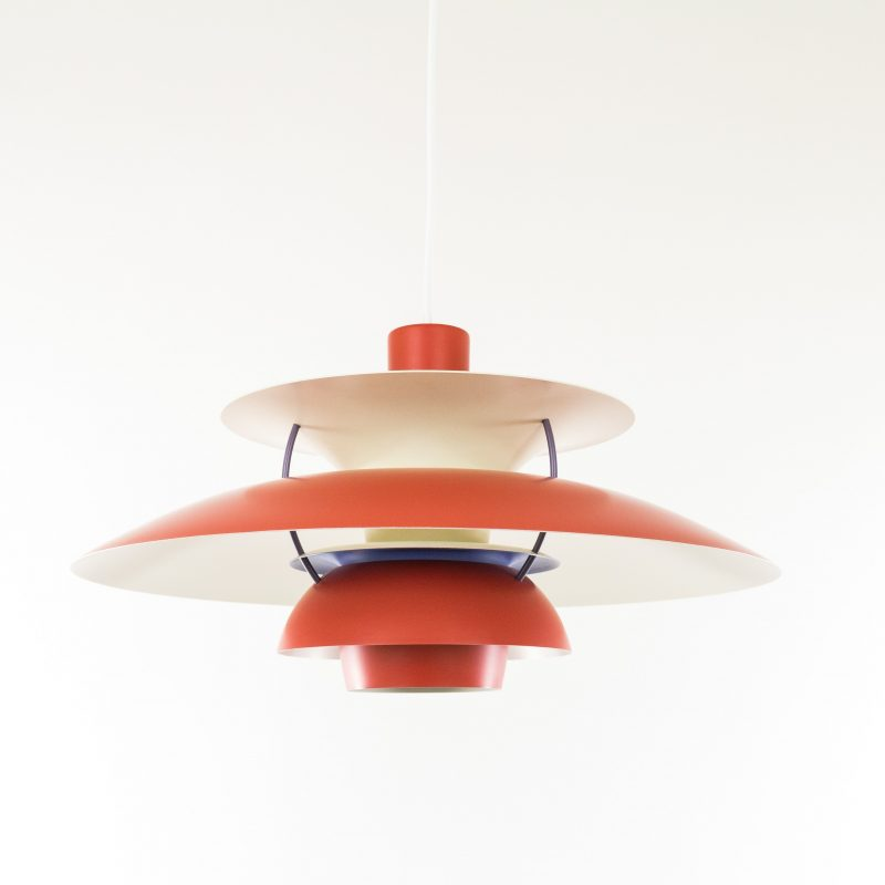 Louis Poulsen original PH5 red lamp