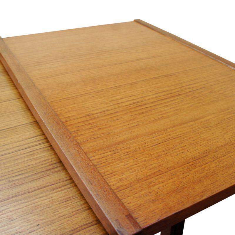 Mesas nido madera de teca diseño Kai Kristiansen