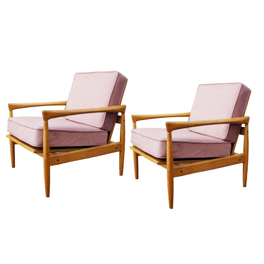 Mid-Century Armchairs by Erik Wörtz for Ikea, Set of 2